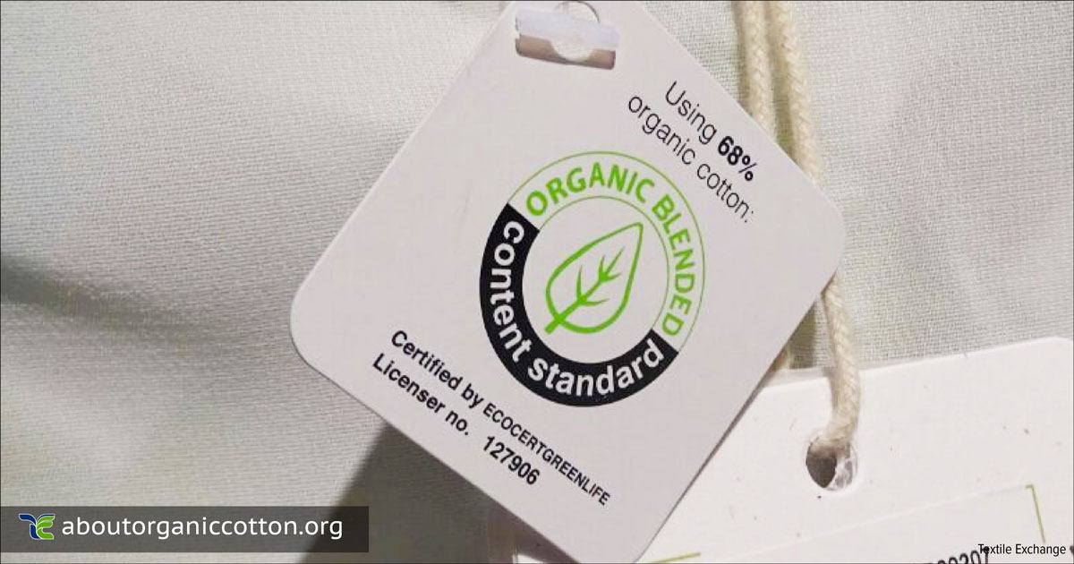 What is organic cotton certification and how does it work?
