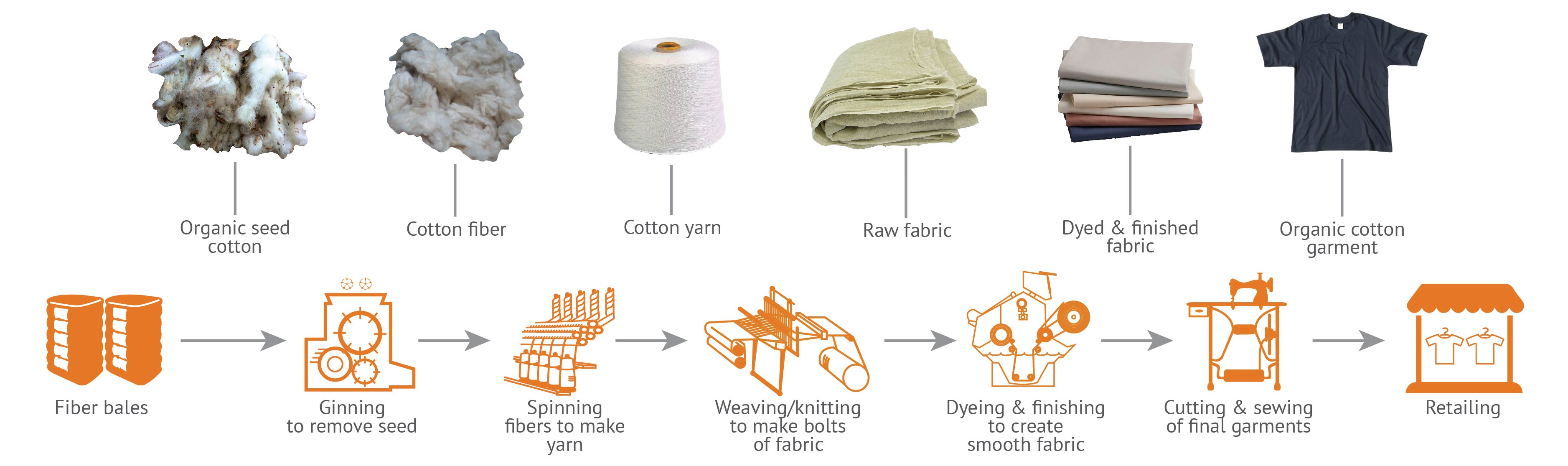 What does the value chain look like for organic cotton ...